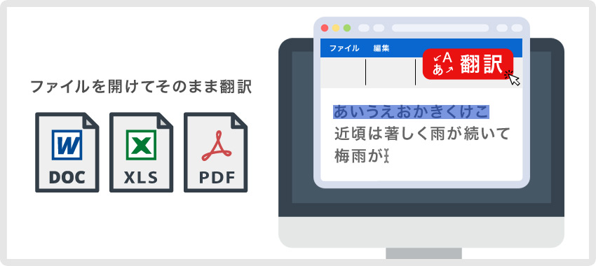 ファイル翻訳